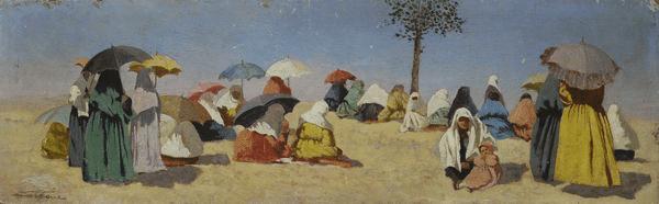Ettore Cercone - L'attesa per il rientro dalla pesca
