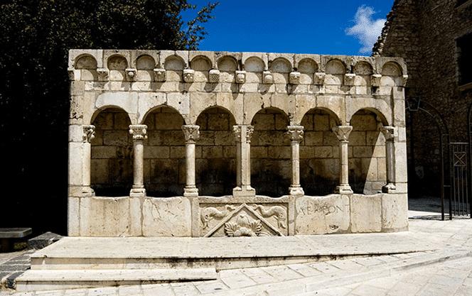 Fontana Fraterna - Isernia - Antiquariato Europeo di Gianluca Scribano