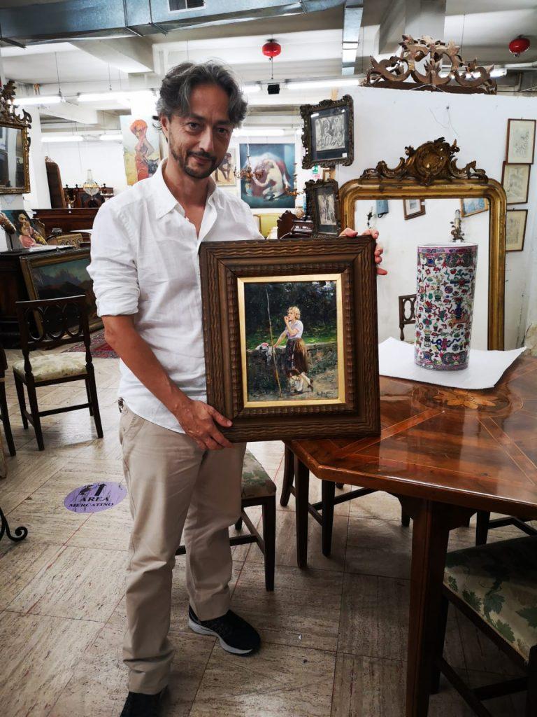 Compro Vendo quadri di Luca Postiglione - Antiquariato Europeo di Gianluca Scribano