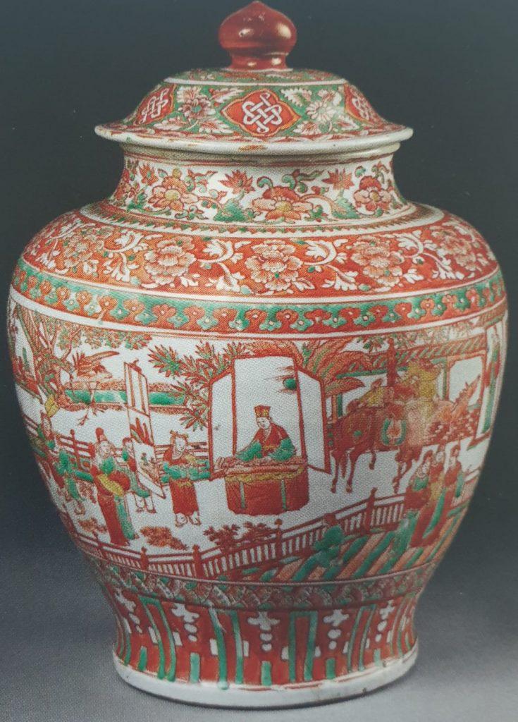 Porcellane cinesi Ming Vaso smaltato tarda dinastia Ming
