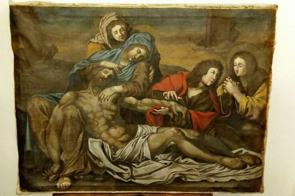 quanto costa un funerale a roma , dipinto deposizione