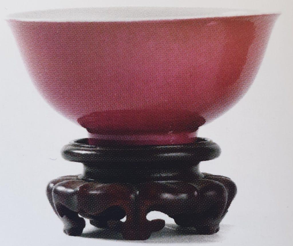 Porcellane Cinesi , Vasetto per lavaggio pennelli